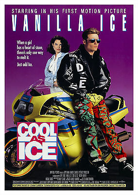 Cool As Ice (1991) - A1/A2 POSTER ***BUY ANY 2 AND GET 1 FREE OFFER***