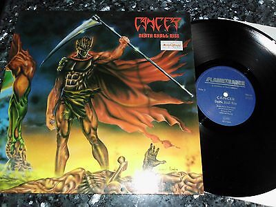 CANCER - DEATH SHALL RISE VINYL LP 1991 orig.1st Press ;Death,Bolt Thrower