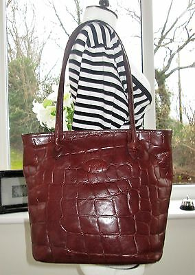 Authentic Vintage Mulberry Brown Congo Leather Hoxton Shoulder Hand Bag