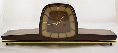Vintage ZENTRA HERMLE Chiming Mantel Clock