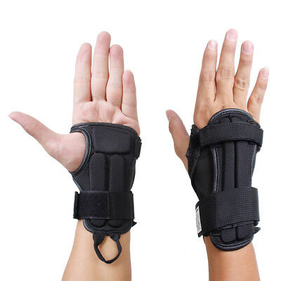 1 Pair Snowboard Ski Protective Gear Gloves Sports Wrist Support Guard M