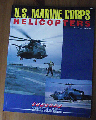 US Marine Corps Helicopters. Concord Publications