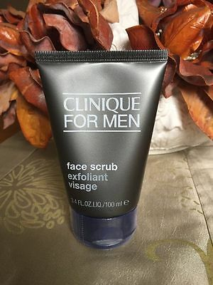 Clinique for Men Face Scrub Exfoliant Visage 100ml New and Sealed