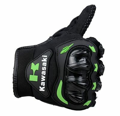 Motocross Gloves KAWASAKI Full Finger Downhill MTB Protective Gear Xtreme Sports
