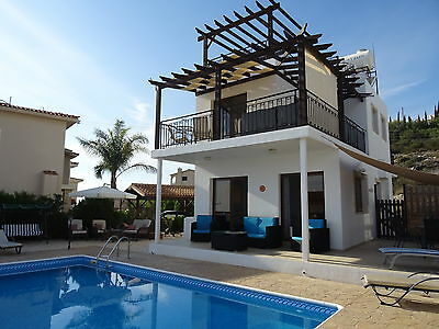 CYPRUS Villa (Paphos) Private Pool  Sleeps 6 fr £525pw inc Wi-fi & A/C