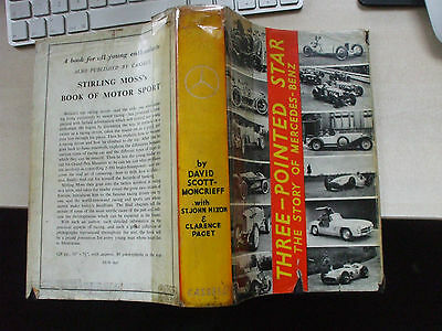 Three-Pointed Star The Story Of The Mercedes-Benz Scott-Moncrieff Car Book