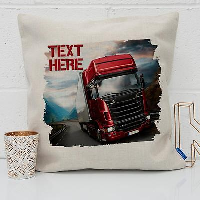 Beer Can Fathers Day Lorry Tanker Truck Chocolate Mixer Tin Holder Gift