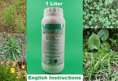 Strong Concentrate Glyphosate Herbicide Weed Grass Destroyer Killer 1L ( 80L )