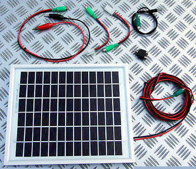 10W Solar Panel Bait Boat battery charger kit 10 Watt carp fishing baitboat 12v