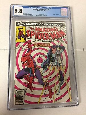 Amazing Spider-man 201 Cgc 9.8 White Pages