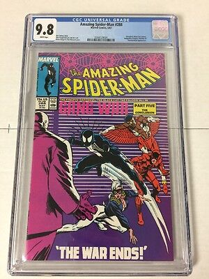 Amazing Spider-man 288 Cgc 9.8 White Pages