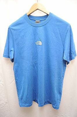 New With Tags The North Face Hiking T Shirt Blue Mens Medium