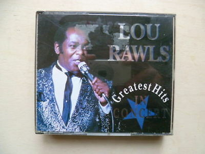 Lou Rawls - Greatest Hits In Concert - 2-CD Box-Set - Disky