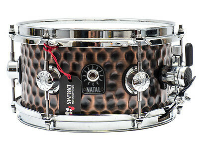 "Natal 10"" x 5"" Hammered Snare"