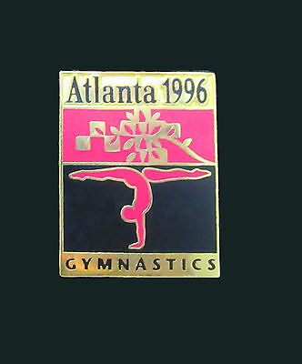 Pictogram with Patchwork leaf motif - Gymnastics Event - Atlanta Summer Olympics