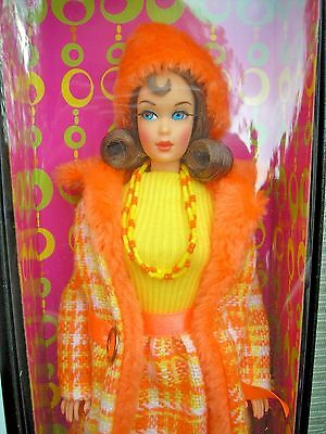Made For Each Other 1969 Mod Era Repro Barbie Gold Label With Shipper Nrfb