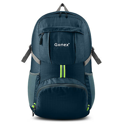 Gonex 35L Waterproof Outdoor Lightweight Folding Nylon Backpack Shoulder Bag