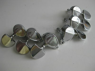 Set of 6 Vintage Yamaha Guitar Tuners Set for Your Project / Repair 2