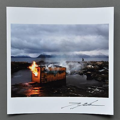 Jonas Bendiksen Magnum Archival Photo Print 15x15 Vesteraalen Norway 2012 Signed