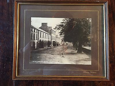 """Framed Vintage Photograph from the Lawrence Collection """"The Mall, Westport"""""""