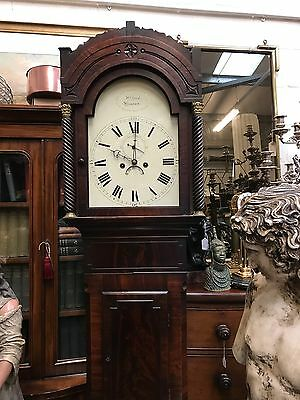 Good Quality 8 Day Arch dial Long case Clock. Open To Offers.