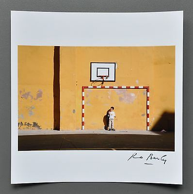 Bruno Barbey Magnum Archival Photo Print 15x15cm Boy Seville Spain 2006 Signed