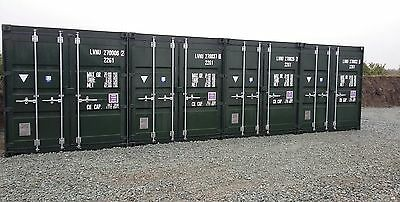 shipping container self storage 20 ft £20 week HIRE