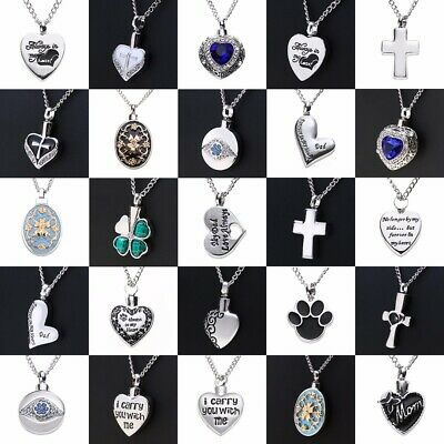 Cremation jewellery for ashes funeral ash pendant silver heart urn cremation jewellery for ashes funeral ash pendant silver heart urn necklace aloadofball Gallery