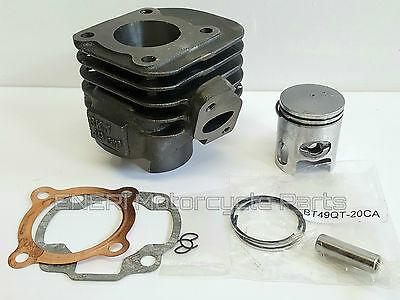 Pulse Force Bt49Qt-20Ca 2T Cylinder Kit Piston & Gaskets  *new*