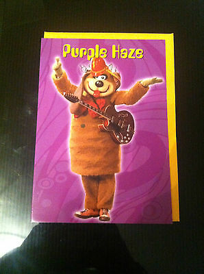 BN Purple Haze Card with Fleegle and his guitar from The Banana Splits