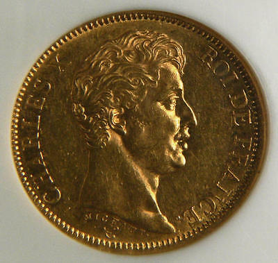 1824 A France Gold 40 Francs Gold Or Coin 1824A  NGC AU58  ☆☆☆ Price Reduced ☆☆☆