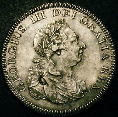 1804 GEF George III Bank of England Silver Dollar Coin ESC 144 CGS 65