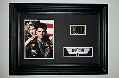 TOP GUN Framed Movie Film Cell Complements poster dvd book navy pilots