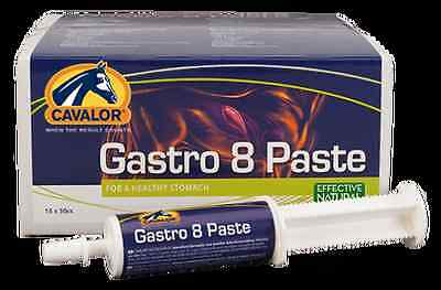 Cavalor Gastro Aid Paste 15 Tubes Stomach Irritation Loss Of Appetite Ulcer