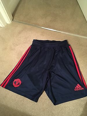 Manchester United Training Shorts 15/16 Season Size Men's Small