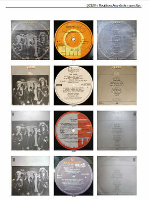 Queen - The Albums Catalogue & Price Guide