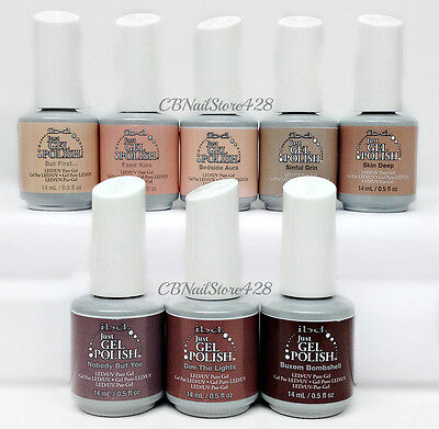 IBD Just Gel Polish - NUDE 2017 Collection - All 8 shades 65725-65732