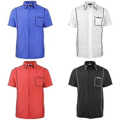 Unicorn Teknik Mens Sports Darts Shirt 3 Colours Large Sizes S-4XL