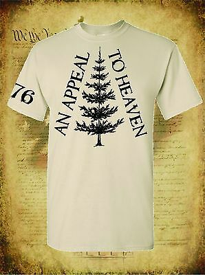 An Appeal To Heaven Revolutionary War Tree Flag 1776 Military Men's T-Shirt