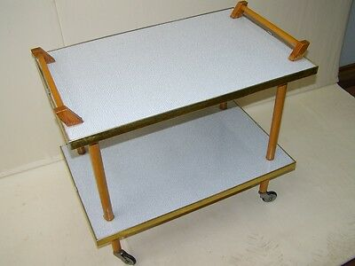 Beautiful age Serving trolley,Iconic Design 1950s 1960s Jahre Tea trolley