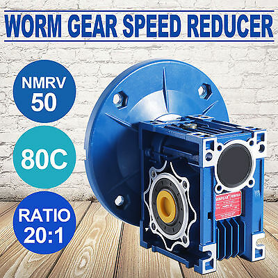 NMRV050 Worm Gear 20:1 56c Speed Reducer Gearbox Honor Safe Good PRO ON SALE