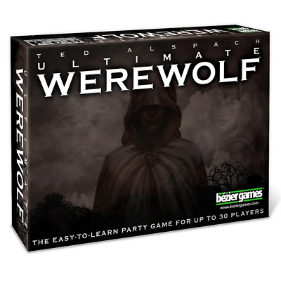 Ultimate Werewolf Card Game NEW