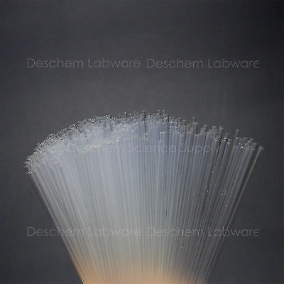 """100mm,Glass Melting Point Capillary Tube,4"""",0.5mm,Both Open Ends,1000 Piece/Pack"""