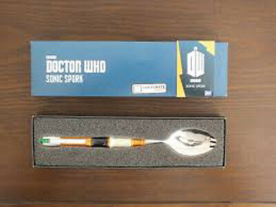 Loot Crate Exclusive BBC Doctor Who Sonic Spork & LC Time Magazine