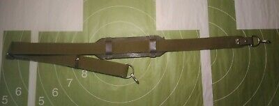 Strap Russian Soviet Army Sling Canvas with 2 Metal Fasteners + shoulder pad