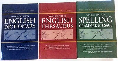 ENGLISH DICTIONARY, ENGLISH THESAURUS, SPELLING GRAMMAR & USAGE |Concise Edition