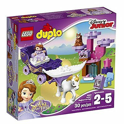 Lego& 174; Duplo Sofia The First Magical Carriage 10822 Toy Play MYTODDLER New