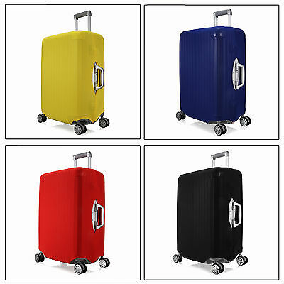 """Size L Elastic Travel Luggage Suitcase Spandex Cover Protector For 26'' ~ 28"""""""