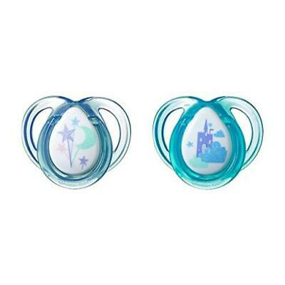 Count 2 Tommee Tippee Closer To Nature Everyday Pacifier 0-6 Months Color Vary