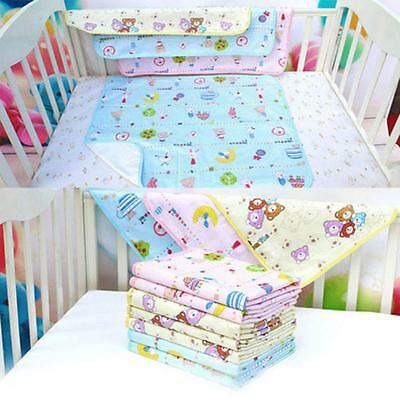 Pad Bedding Nappy Cotton Newborn Waterproof Baby Diaper Urine Mat Infant Burp
